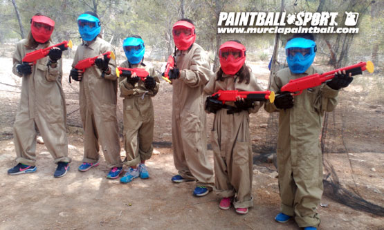Paintball Kikds